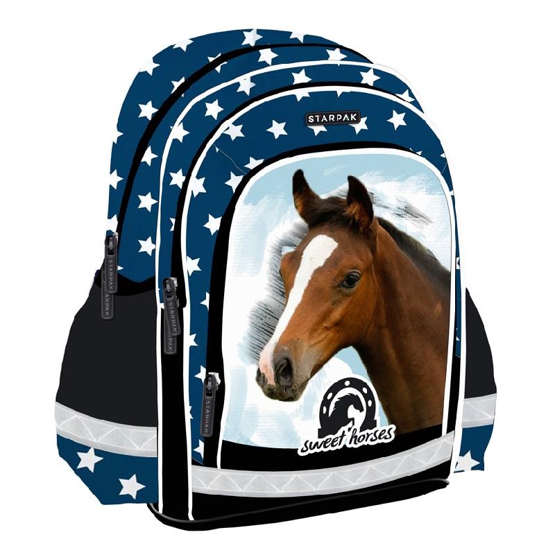 ca58ea37a720d Plecak szkolny Horses 1